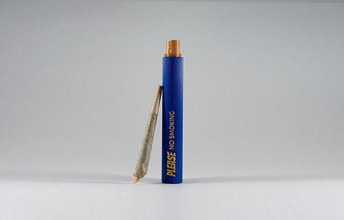 "Terrapin ""Please No Smoking"" Blue Doob Tube"
