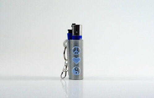 "Terrapin ""Symbols"" Lighter Case + Keychain *Customizable"
