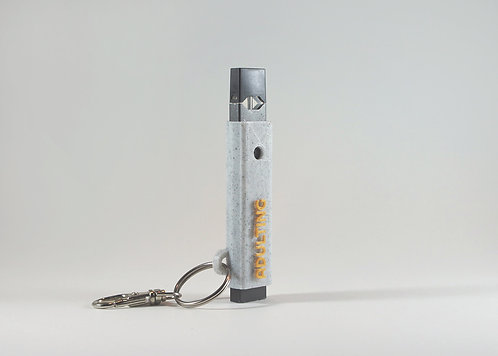 """Terrapin """"Adulting"""" Marble + Gold E-cig Case *Customizable"""