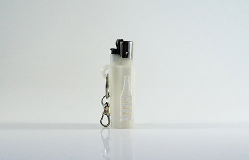 """Terrapin """"Cold Beer"""" Lighter Case + Keychain *Customizable"""