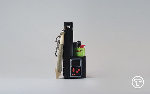 Terrapin Gameboy Deluxe, Mini Lighter + Joint* Case & Keychain