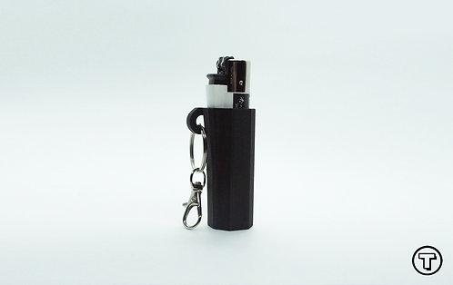 Terrapin Lighter Case + Keychain Jedi Black Plain, *Customizable