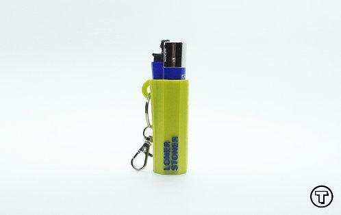 "Terrapin Lighter Case + Keychain ""Loner Stoner"", *Customizable"