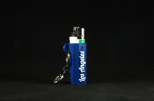 "Terrapin Royal Blue ""Los Angeles"" Lighter Keychain"