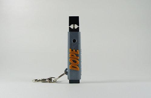 """Terrapin """"DOPE"""" E-cig Hard Shell Case + Keychain *Customizable"""