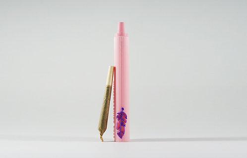 """Terrapin """"Light as a Feather"""", Pink *Customizable Doob Tube"""