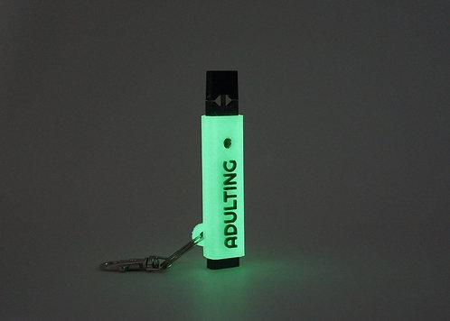 """Terrapin Glow-in-the-Dark """"Adulting"""" E-cig Case *Customizable"""