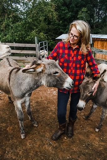 Clarie & Donkeys.jpeg