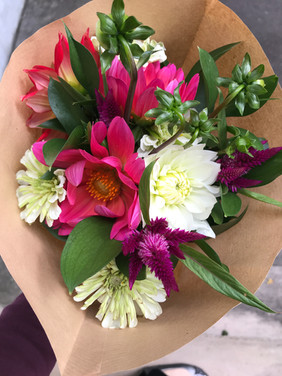 Flower Bouquet Ready for Market