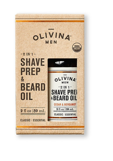 Olivina Shave Prep & Beard Oil