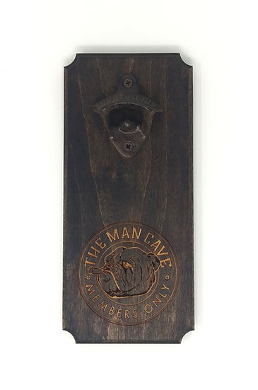 The Man Cave Bottle Opener