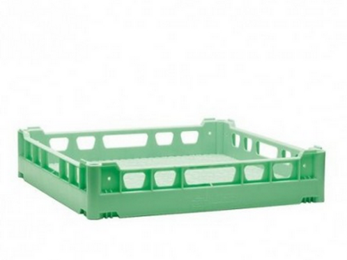 Besteckkorb grün