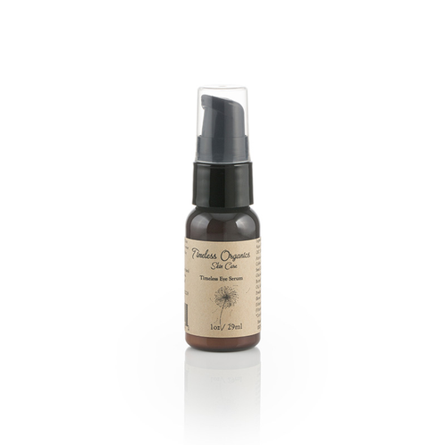 Serums for timeless organic eye serum