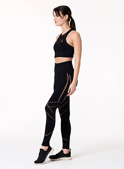 NUX Active - Black Get Shredded Leggings
