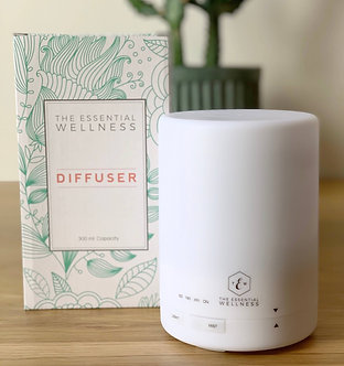 Essential Wellness Oil Diffuser Bundle