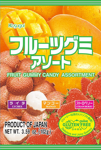 Fruit Gummy Assort 102g