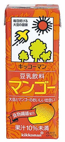 Kikkoman Soy Milk Mango 200ml