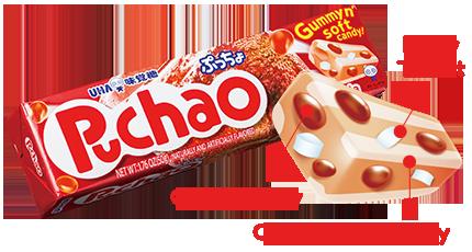 UHA Puchao Cola 50g