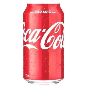 CCA Coca Cola 375ml 24cans