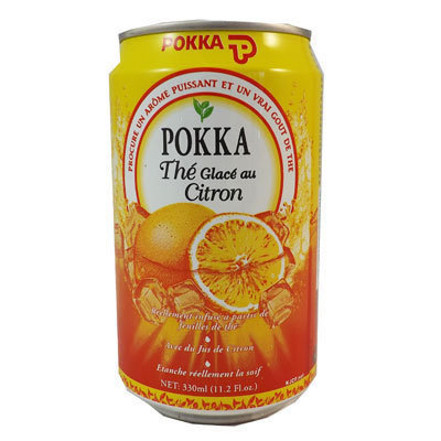 POKKA Ice Lemon Tea 330ml 24cans