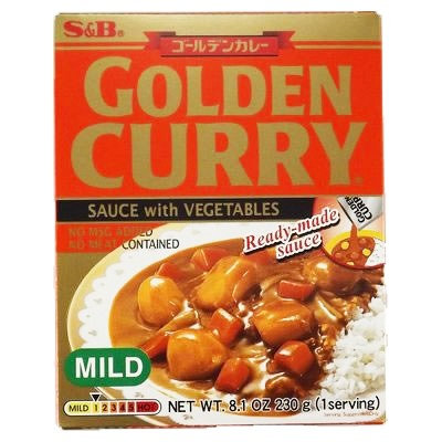 SB Retort Curry Mild 230g Prepared Golden Curry