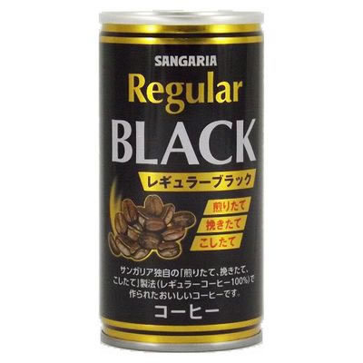 Regular Black Coffee 30cans 190g