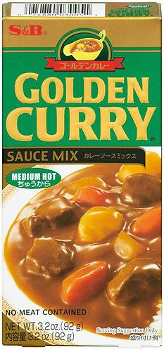 SB  Golden Curry Medium Hot 92g
