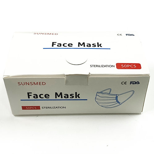 Disposable Face Mask 50pc