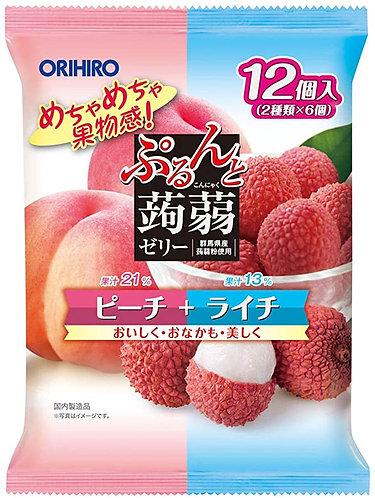 Purunto Peach+Lychee 240g
