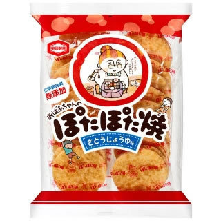 KAMEDA Potapota Yaki 121.7g Rice Cracker