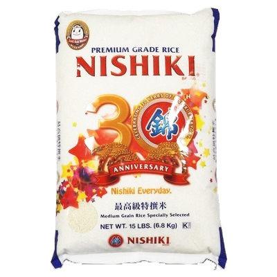NISHIKI Musenmai Rice 6.8kg California