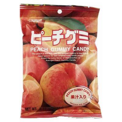 KASUGAI Gummy Peach 107g