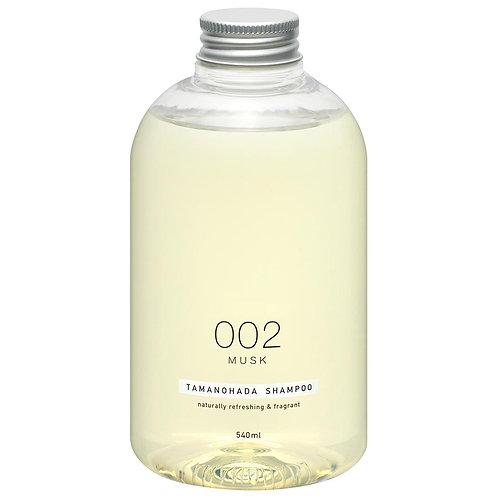 TAMANOHADA Shampoo 002 Musk 540ml
