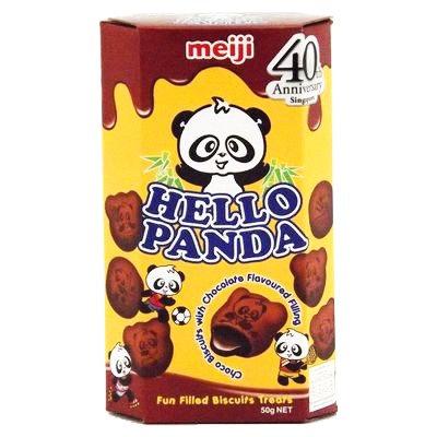 MEIJI Panda Double Choco  50g