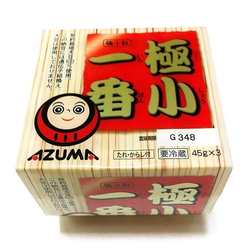 AZUMA Ichiban Natto 3pc 153g