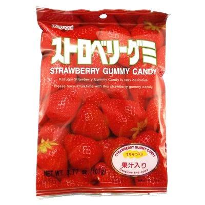 Gummy Strawberry 107g