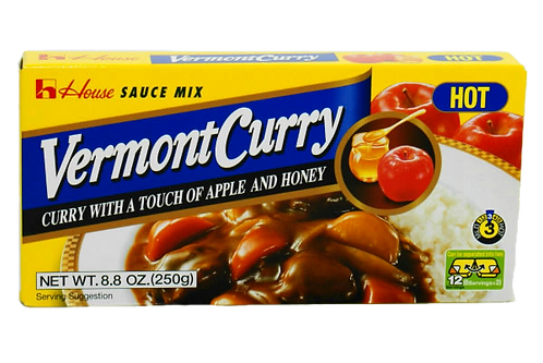 HOUSE Vermont Curry Roux Hot 230g