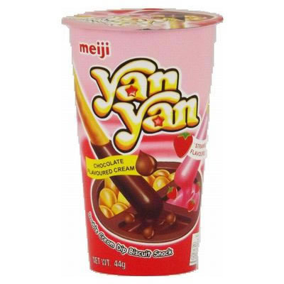 MEIJI Yan Yan Cookie & Strawberry 50g