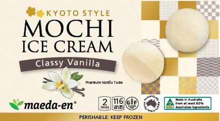 Mochi Ice Vanilla 2Pc 92G