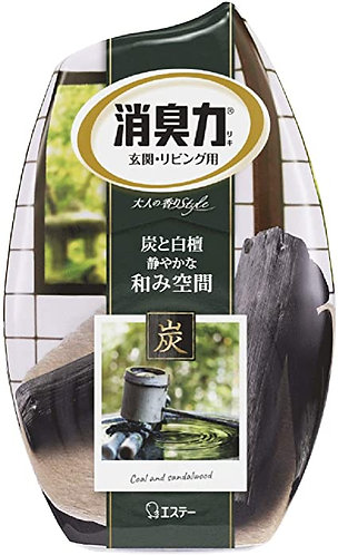 ST Scented Room Deordorizer Charcoal and Sandalwood 400ml