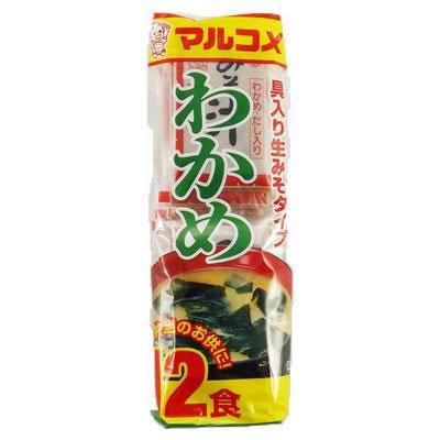 MARUKOME Sokuseki Wakame 12pc Instant Miso Soup
