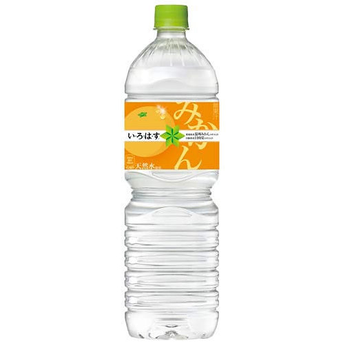 IROHASU Mikan Orange 24bottles 555ml