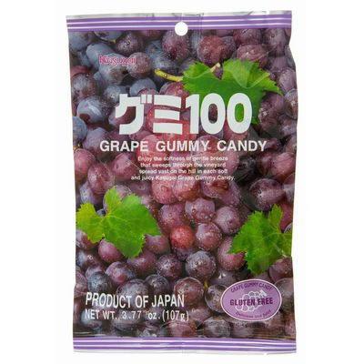 Gummy 100 Grape 107g