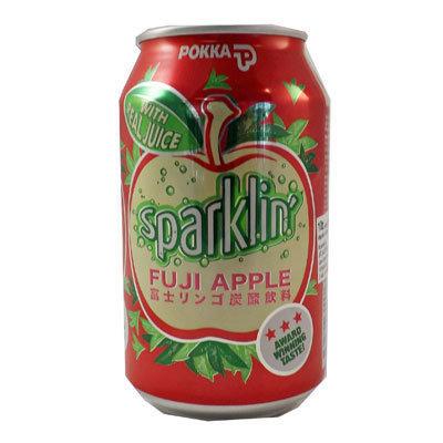POKKA Fuji Apple Sparkling 325ml 24cans