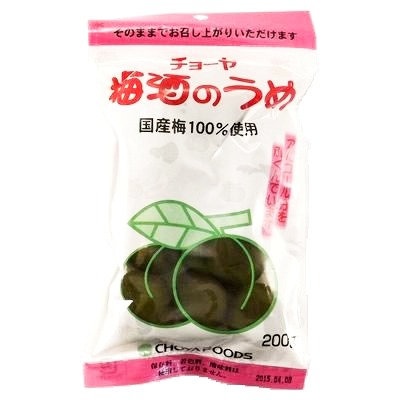 CHOYA Umeshu no Ume 200g Pickled Plum