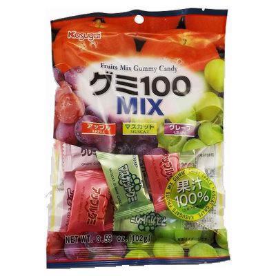 KASUGAI Gummy Mix 100 102g