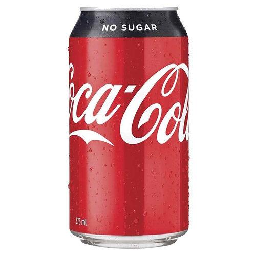 CCA Coca Cola No Sugar 375ml 24cans