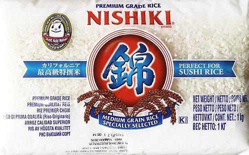 NISHIKI Sushi Rice 1kg Calfornia