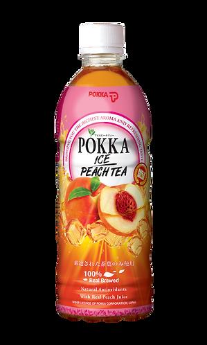 POKKA Ice Peach Tea 500ml
