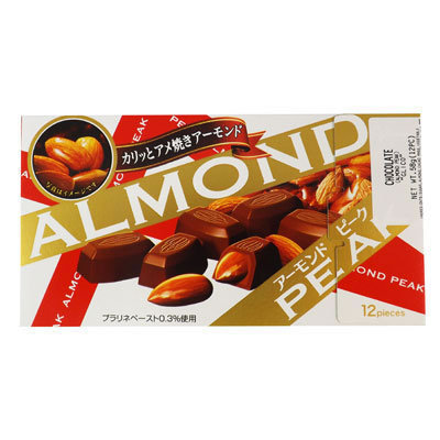 Almond peak Choco 58g GLICO